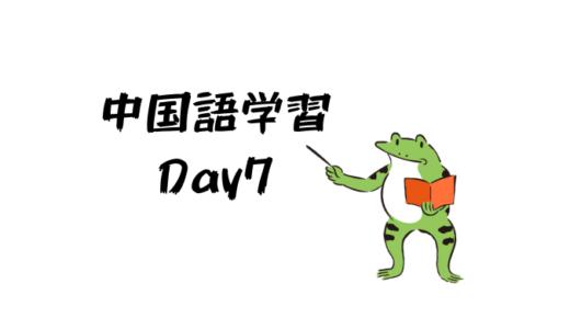 中国語学習7日目:子音その2-f・d・t